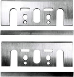 "3‑1/4"" Planer Blade Set with Set Plate Double Edged Blade Set Universal Adapter"