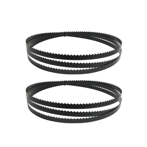 72-Inch X 3/8-Inch X 0.02, 6TPI Carbon Band Saw Blades, 2-Pack