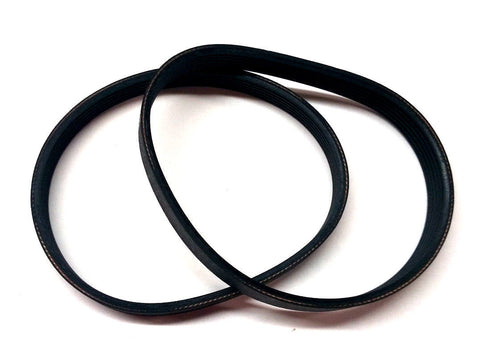 135J Replacement Drive Belt 22-546 for Delta 22-540 TP300 Planer - 2Pack