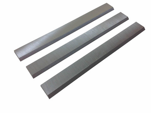"4"" x 5/8"" x 1/8"" Replacement Jointer Knives for Jet JJ-4, Atlas, Boice, Crane, Old Craftsman jointers - Set of 3"