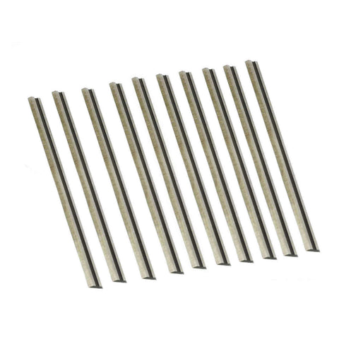 "3-1/4"" HSS Planer Blades For MAKITA, BOSCH, DeWalt, WEN, BLACK & DECKER, Ryobi,Craftsman - 10Pack"