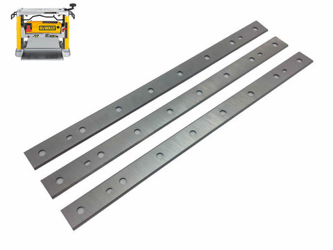 12.5-Inch Replacement Knives for DeWalt DW734 Benchtop Planer, Replace DW7342 - Set of 3
