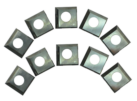 14.3mm Carbide Inserts 2 Cutting Edges 25-499 for Rikon 25-130H,20-600H, 25-131H -10pcs