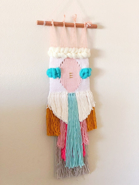 Multi color wall hanging