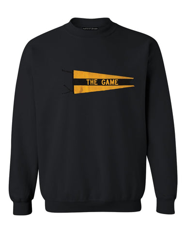 """The Game"" Pennant Sweatshirt - Patient Shark"