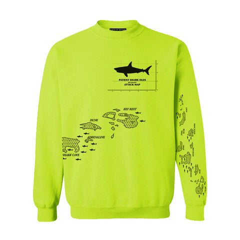 Attack Map Sweatshirt