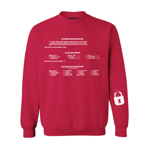 Medical Report, Page 2 Crew Sweatshirt