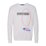 Remember Remember Crew Sweatshirt