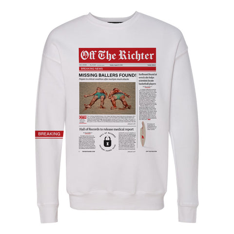 Breaking News Article Sweatshirt