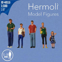 HERMOLI STANDING FIGURES, SCALE M=1:100 (SELECT SIZE AND COLOUR)