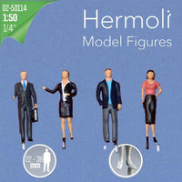 HERMOLI STANDING FIGURES, SCALE M=1:50 (SELECT SIZE AND COLOUR)