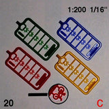 BICYCLES, SCALE M=1:200 (SELECT COLOUR)