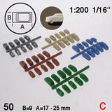 CARS, ASSORTED 10 TYPES, SCALE M=1:200 (SELECT SIZE AND COLOUR)