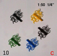 BICYCLES, SCALE M=1:50 (SELECT COLOUR)