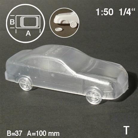 CAR, TYPE 'SEDAN', SCALE M=1:50 (SELECT SIZE AND COLOUR)