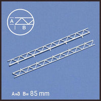 OPEN WEB TRUSSES, WHITE (SELECT SIZE)