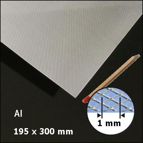 EXPANDED ALU, SIZE = ca 200 x 300 MM (SELECT RHOMB SIZE)
