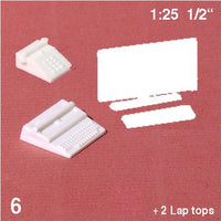 OFFICE EQUIPMENT SET, WHITE, M=1:25 (1 PC)