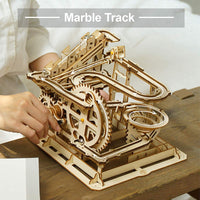 DIY MARBLE GAME / WOODEN PUZZLE (1 SET)