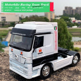 NEWRAY 1/32 Scale IVECO Stralis Truck 19cm Length Diecast Metal Car Model Toy For Gift,Collection,Decoration