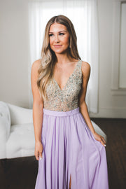 The Diana Gown (Lavender)