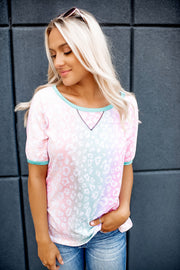 Spotted Gradient Tee (Pastel) FINAL SALE