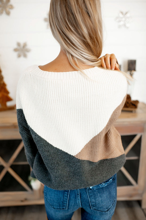 The Tula Knit Sweater (Charcoal)