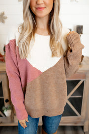 The Tula Knit Sweater (Mauve)