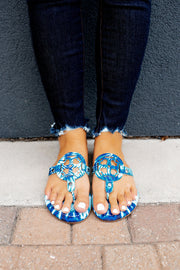 The London Flip Flops (Blumoon) FINAL SALE