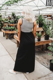 Season Of Stripes Maxi (Black)