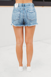 KanCan Renee High Rise Shorts