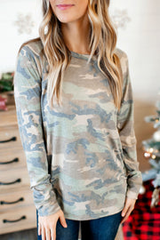 Camo Is The New Black Top