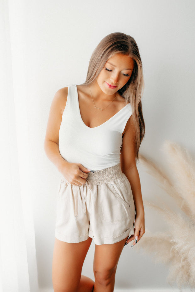 A Pop Of Color Striped Cardigan (Coral)