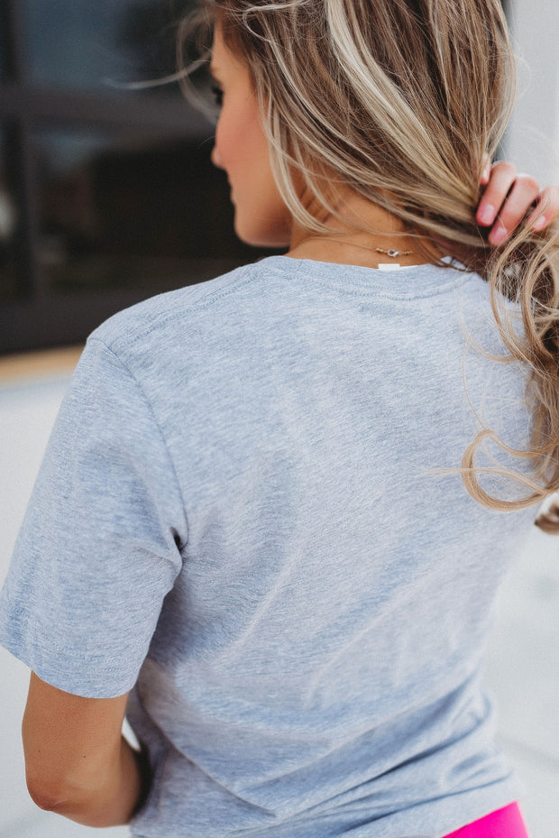 Wanderlust Graphic Tee (Heather Grey)