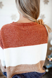 Chenille O'Neal Sweater (Rust)