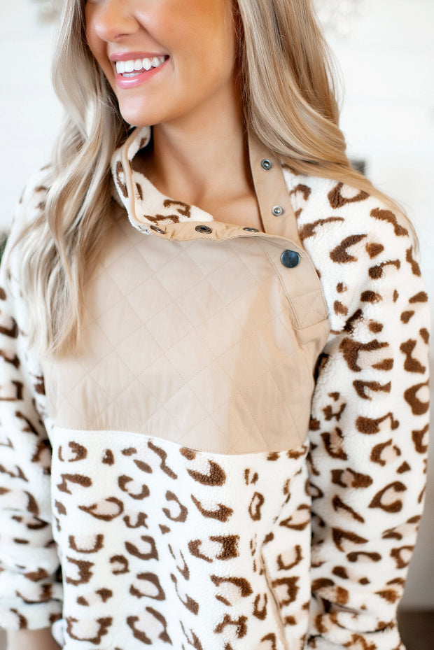 Wild And Free Pullover (Cream)(FINAL SALE)