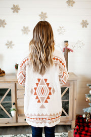 Fireside Wonders Cardigan (Ivory) FINAL SALE