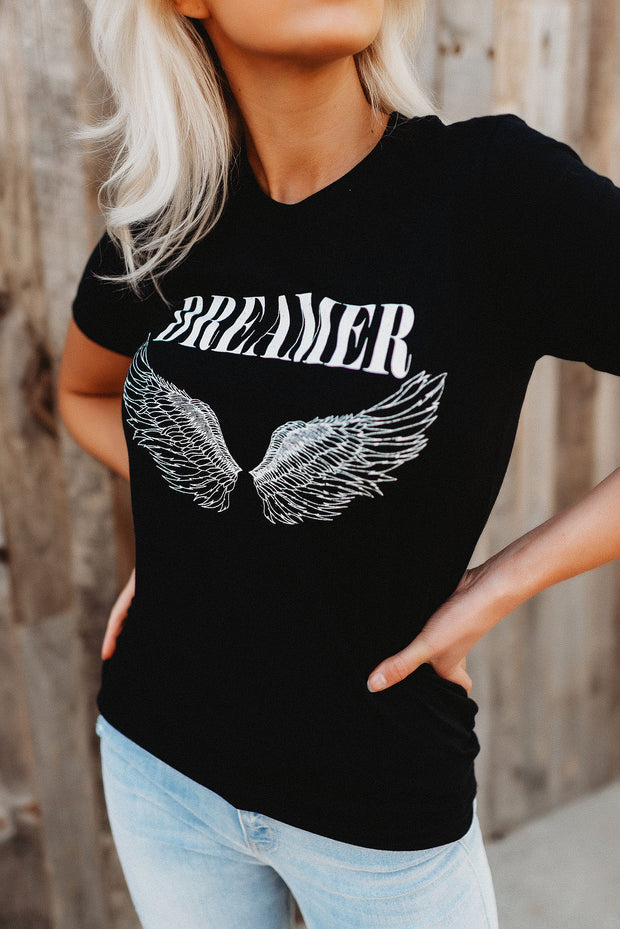 Dreamer Graphic Tee (Black)