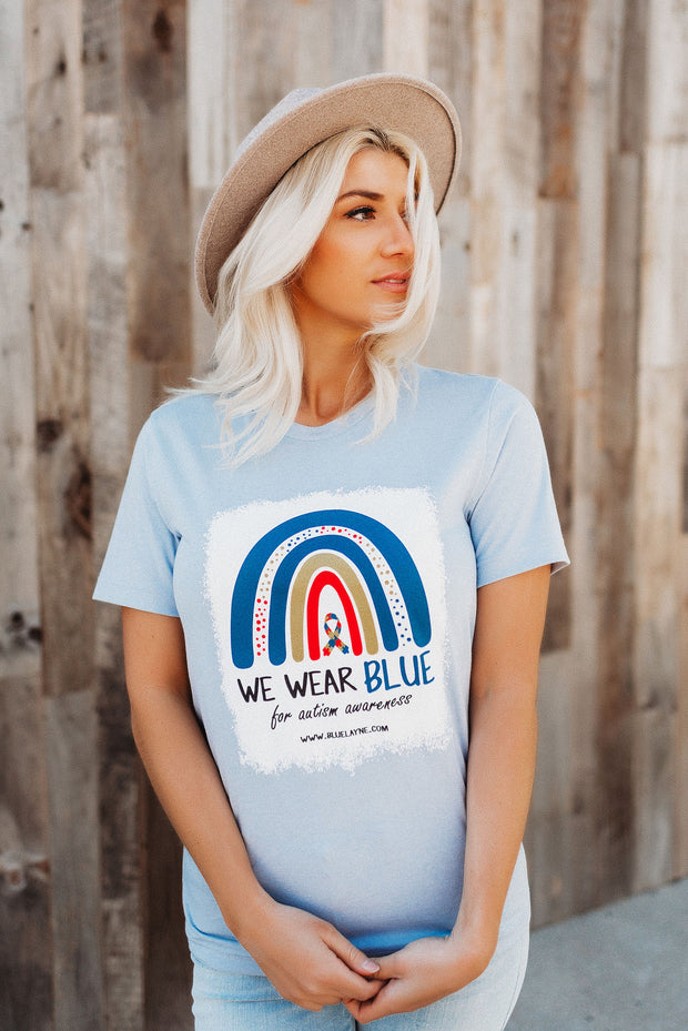 Autism Awareness Tee - We Wear Blue