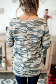The Crossroads Top (Green Camo)