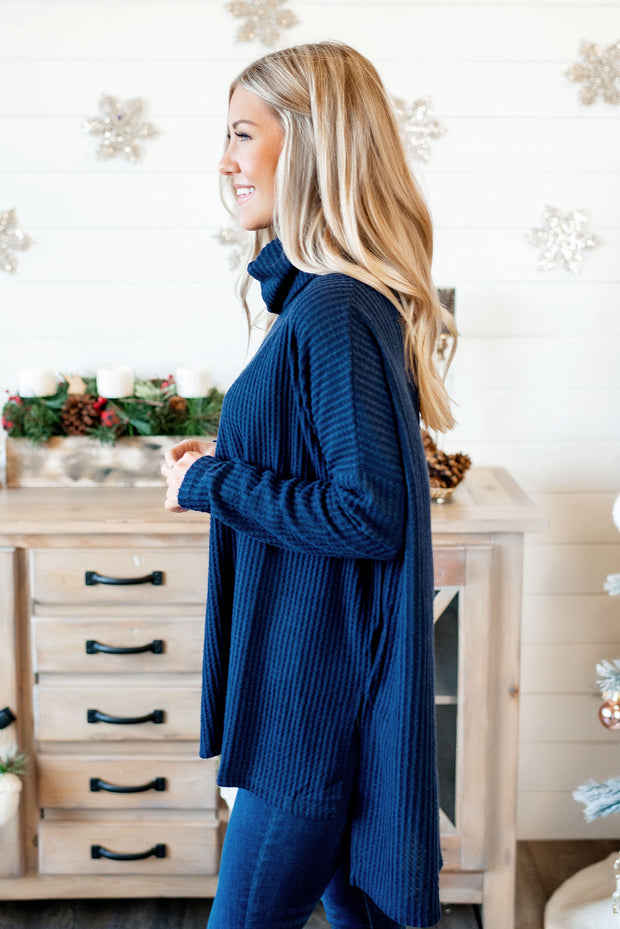 Coming Home To Stay Tunic (Navy)