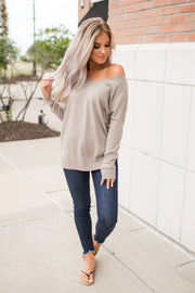 All The Good Things Sweater (Mocha)
