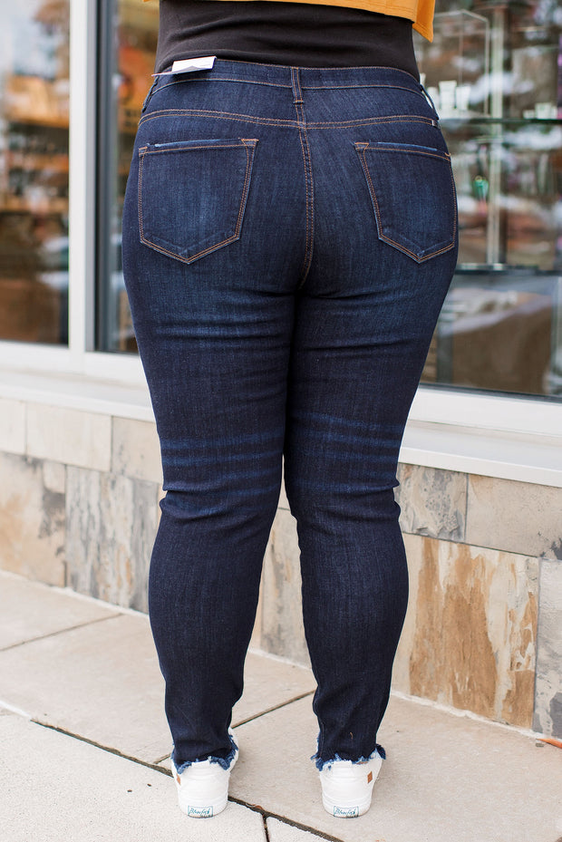 KanCan Curvy Georgia High Rise Skinnies