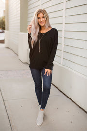 All The Good Things Sweater (Black)