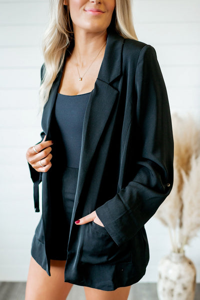 The Naomi Blazer (Black)