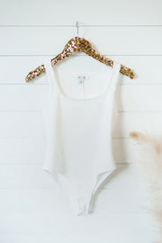 Sorry I'm Late Bodysuit (Ivory)