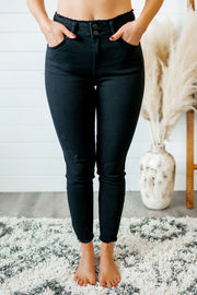 KanCan Marie Black Skinnies