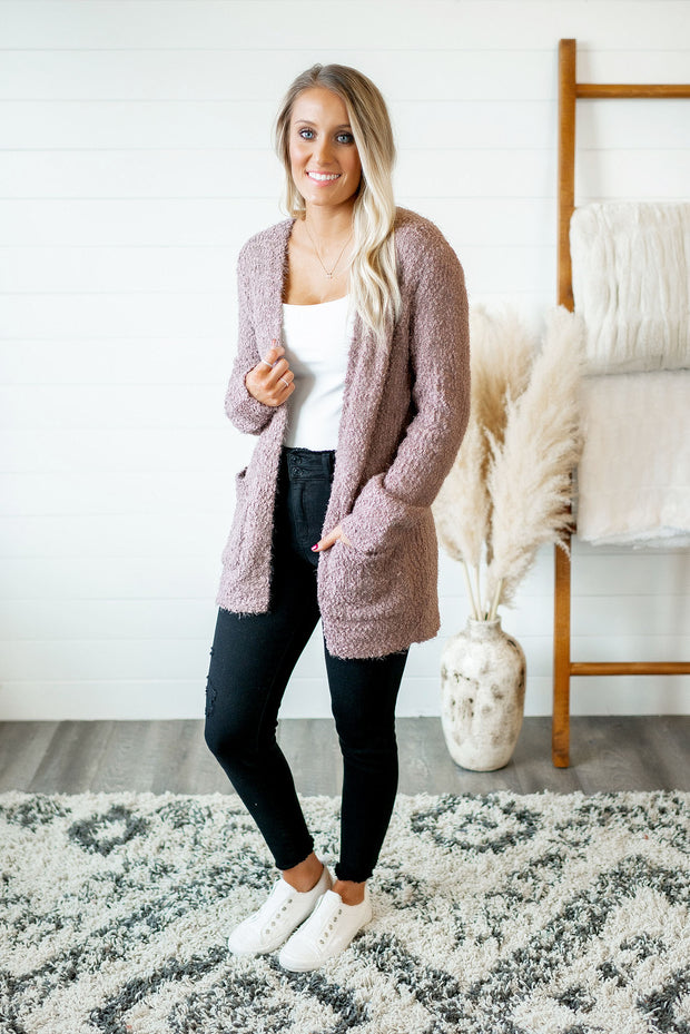 Popular Demand Popcorn Cardigan (Mocha)