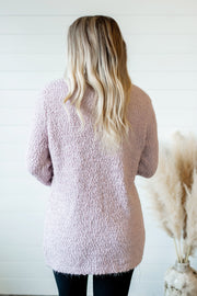Popular Demand Popcorn Cardigan (Blush)