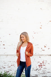 The Safari Anorak Jacket (Rust)